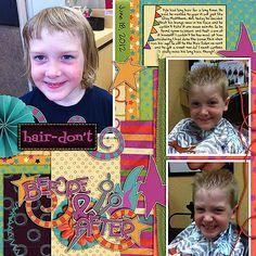 Jan14_FreebieTemp by Meagans Creations;  Crazy Hair Day by Meagans Creations;  Crazy Hair Day Word Art by Meagans Creations;    Fonts: PeaDanielSan