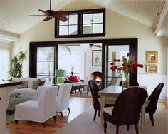 Living Room in Reedy River Overlook House Plan