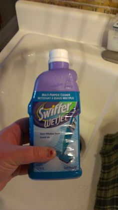 How to Refill Your Swiffer Wet Jet Bottle - yessss!!! This makes me do incredibly happy to know how to do this. I'll use my Odoban concentrate for much cleaner floors at a fraction of the cost. Yay!