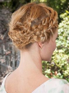 Kate Bosworth's amazing wrapped braid | allure.com