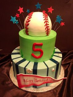 baseball cake. Right, i wish I was this gifted!