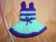 crochet baby doll dress:)