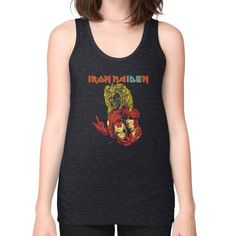 IRON MAIDEN Unisex Fine Jersey Tank (on woman)