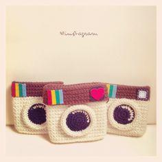 Instagram crochet camera :)