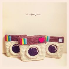 Instagram crochet camera :)