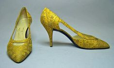 Roger Vivier for House of Givenchy Date: fall/winter 1961–62