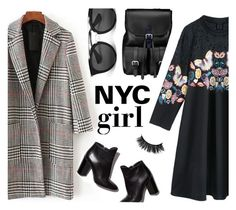 """NYC girl #1"" by ddalginanabeauty ❤ liked on Polyvore featuring Aspinal of London, Pierre Hardy and Prada"