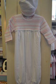 Kissy Kissy crochet gown The Childrens Shop, Atlanta