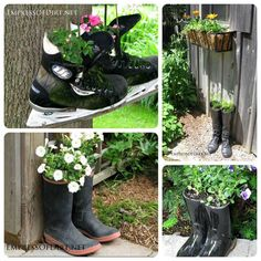 Creative DIY Garden Containers Ideas 9