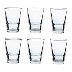 IKEA - VÄNLIG, Glass, 11 oz, , Can be stacked inside one another to save space in your cabinets when not in use.