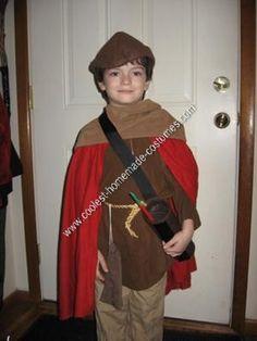 Coolest Homemade Robin Hood Halloween Costume 5ae28dedcf35