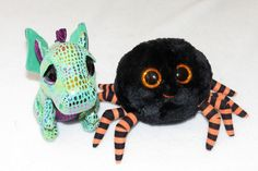 "Halloween Ty Beanie Boo 6/"" Purple Crawly Spider 2014 NWT"