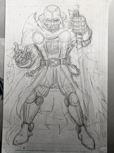 """""""Darth Doom"""" commission I'm sketching. Client wanted an amalgamation of #darthvader & #doctordoom, so I just had a little bit of fun with it. Will have YT video of this soon. Sub me at www.YouTube.com/WaldenWongArt . #marvel #comics #commission #pencil #sketch #doodle #draw #ink #color #starwars #vader #darkside #fantasticfour #victorvondoom #art #arts #arte #anime #manga #micron #fineliner #brush #inks #sketchbook #starwarsart #cosplay #doodleart #picoftheday Comic Art, Comic Books, Marvel Comics Art, Fantastic Four, Star Wars Art, Doodle Art, Dark Side, Darth Vader, Ink"""
