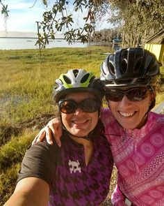Short but fun ride around the lake with Christy. The rest of the day was filled with different sessions.  #adventurecycling #leadershipcyclingcourse #leadershipcourse #florida #clermont