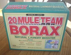 Toiler Cleaner -   1 cup borax  1/2 cup white vinegar