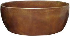 Look at this brand new double wall #copper #tub. Purchase #quality #rustic #home #decor, plumbing hardware and hammered copper bathtubs from Mexico.