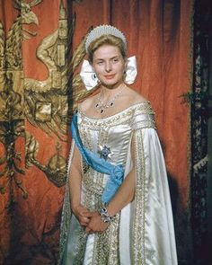 """Ingrid Bergman as Anastasia. I always loved the animated movie but this one was fantastic! And great and amazing and ect ect ect. """"The king and I"""" anyone?"""