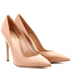 Gianvito Rossi PATENT-LEATHER PUMPS on shopstyle.com
