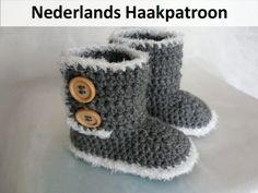Nederlands Haakpatroon Ugg Style Boots 6 - 24 mnd