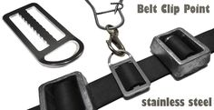 Freedive belt clips http://www.deepbluediving.org/how-to-choose-a-scuba-diving-computer/