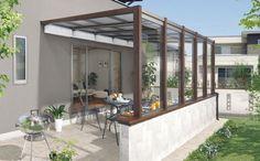 ガーデンテラスの商品説明と施工例です。