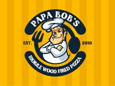 Chef Mascot Logo by andymonstART