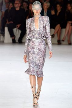 Trend Alert! Peplum Skirts. Alexander McQueen Runway 2012. Like the look? Check our post on RESCU http://www.rescu.com.au/fashion/blog-shopping-style-celebrity-fashion/how-to-wear-peplum-skirts