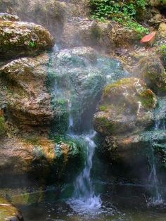 Natural Hot Springs, Hot Springs National Park, Arkansas by maryanne