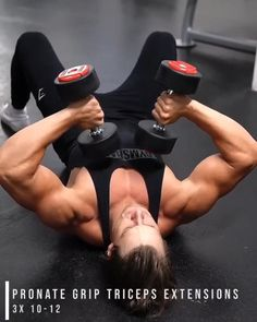 Gym Workout Chart, Full Body Hiit Workout, Gym Workout Videos, Gym Workout For Beginners, Fitness Workouts, Weight Training Workouts, Bicep And Tricep Workout, Shoulder Workout, Bodybuilding Workouts