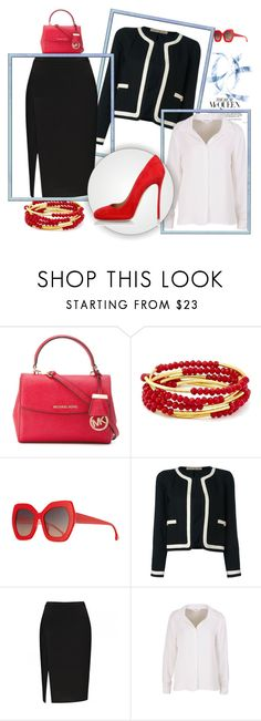 """Street Style"" by majda08 ❤ liked on Polyvore featuring Michael Kors, Chrysalis, Alice + Olivia, Chanel and Dsquared2"