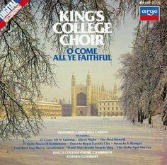 Christmas Cds, Christmas Night, Christmas Carol, King's College Cambridge, Silent Night, Tower Records, Choir, Cool Things To Buy, Germany