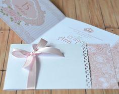 Convite 15 anos Floral - 10x15cm