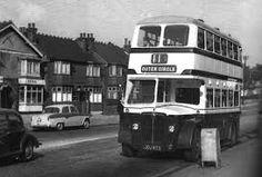 old birmingham trams acocks green - Google Search