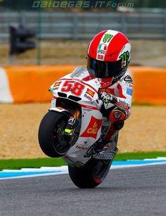 chibi version of Marco Simoncelli Ducati, Gp Moto, Moto Bike, Valentino Rossi, Course Moto, Motorcycle Baby, Foto Picture, Pocket Bike, Futuristic Motorcycle