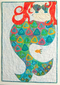 Mermaid Quilt: Etsy