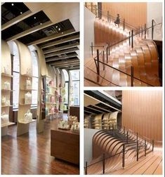 Unusual and Creative Staircase Designs at the #Longchamp Store in New York City