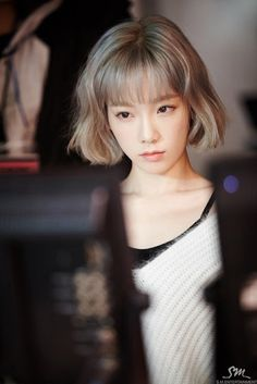 Behind the scene pictures and gifs from SNSD TaeYeon's 'Rain' MV ~ Wonderful…