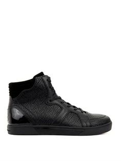 80755f6745801 Rydge high-top leather trainers