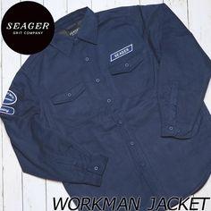 [送料無料] SEAGER シーガー WORKMAN JACKET コットンワークジャケット | BRAND,SEAGER | LUG Lowrs