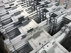 The range of parts folded on our CNC press brakes never ceases to amaze me. Cnc Press Brake, Sheet Metal Work, Portsmouth, Art And Architecture, Hampshire, Metal Working, Range, Design, Cookers