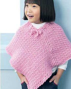 Easy kids knit poncho knitted poncho ponchos and bernat yarn free easy childs poncho knit pattern see more free pattern wonder if mama could make this for kelsey dt1010fo