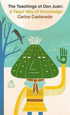 Book design for The Teachings of Don Juan by Ben Kirchner