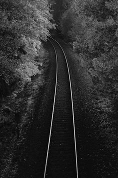 ☾ Midnight Dreams ☽  dreamy & dramatic black and white photography - night tracks