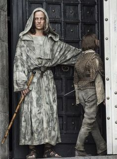 GoT  House of Black and White  Arya and Jaqen H'ghar