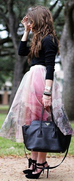 #Snowrose #Full #Skirt