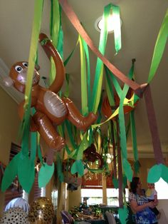 First Birthday....Jungle theme vision by Katrina