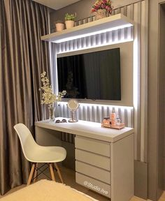 My ideas: Top Beautiful Teen Room Decor For Girls Cute Room Decor, Teen Room Decor, Bedroom Decor, Pinterest Room Decor, Small Room Bedroom, Girls Bedroom, Home Office Design, Beauty Room, Dream Rooms