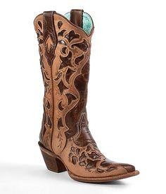 Corral Cut-Out Cowboy Boots