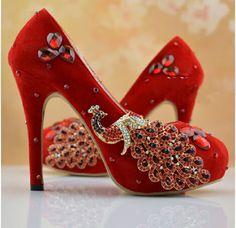74dd52d92a1 luxury wedding high heels pearl wedding shoes by annieshop20 Wedding High  Heels