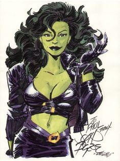 She-Hulk by John Byrne